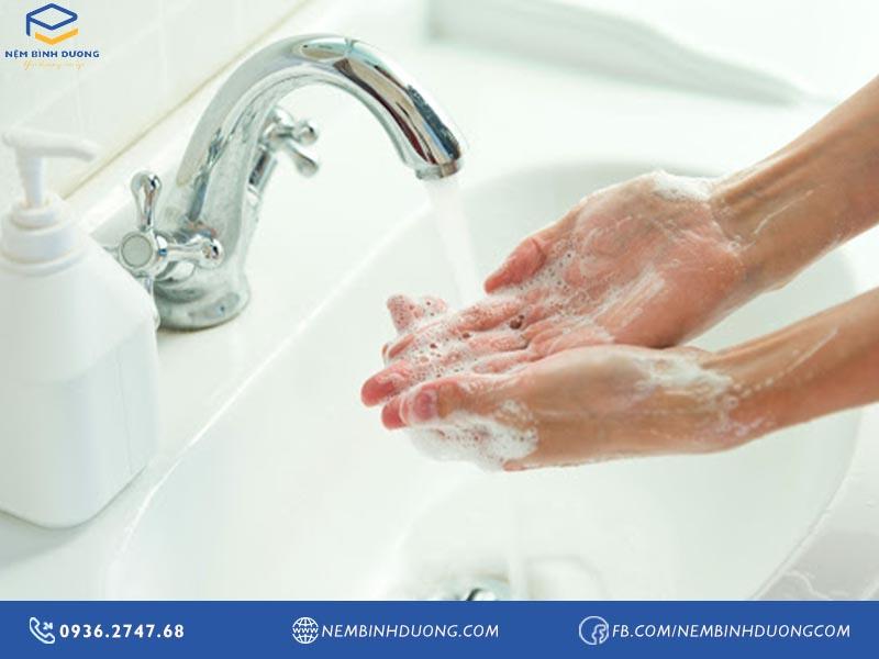 Rửa tay đúng cách là biện pháp hàng đầu ngừa COVID-19 - Nệm Bình Dương