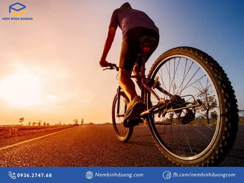 Nên đạp xe đạp vào lúc nào? Nệm Bình Dương